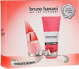 Düfte, Parfümerie und Kosmetik Bruno Banani Absolute Woman - Duftset (Eau de Toilette 20ml + Duschgel 50ml)