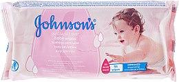 Düfte, Parfümerie und Kosmetik Feuchttücher für Kinder 56 St. - Johnson's Gentle All Over Baby Wipes
