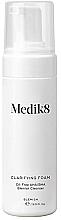 Düfte, Parfümerie und Kosmetik Antibakterieller Gesichtsreinigungsschaum mit Mandel- und Salicylsäure, Teebaumöl und Niacinamid - Medik8 Clarifying Foam