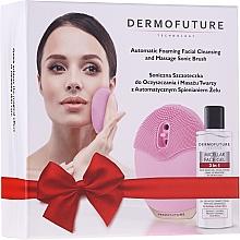 Düfte, Parfümerie und Kosmetik Gesichtspflegeset - DermoFuture (Elektrische Bürste zur Gesichtsreinigung 1 St. + 3in1 Mizellengel 150ml)