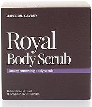 Düfte, Parfümerie und Kosmetik Glättendes Körperpeeling - Natura Siberica Fresh Spa Imperial Caviar Royal Body Scrub