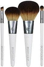 Düfte, Parfümerie und Kosmetik Make-up Pinselset 4 St. - EcoTools On-The Go Style