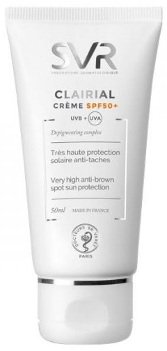 Schützende Gesichtscreme gegen Hyperpigmentierung SPF 50+ - SVR Clairial Cream SPF50+ — Bild N1