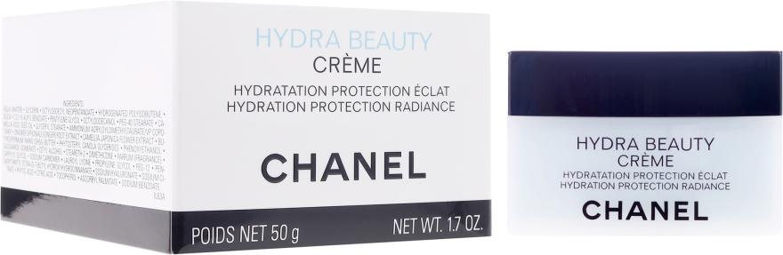 Feuchtigkeitsspendende Gesichtscreme - Chanel Hydra Beauty Hydratation Protection Radiance Creme — Bild N1