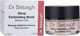 Düfte, Parfümerie und Kosmetik Tiefenpeeling Maske für empfindliche Haut - Dr Sebagh Deep Exfoliating Mask