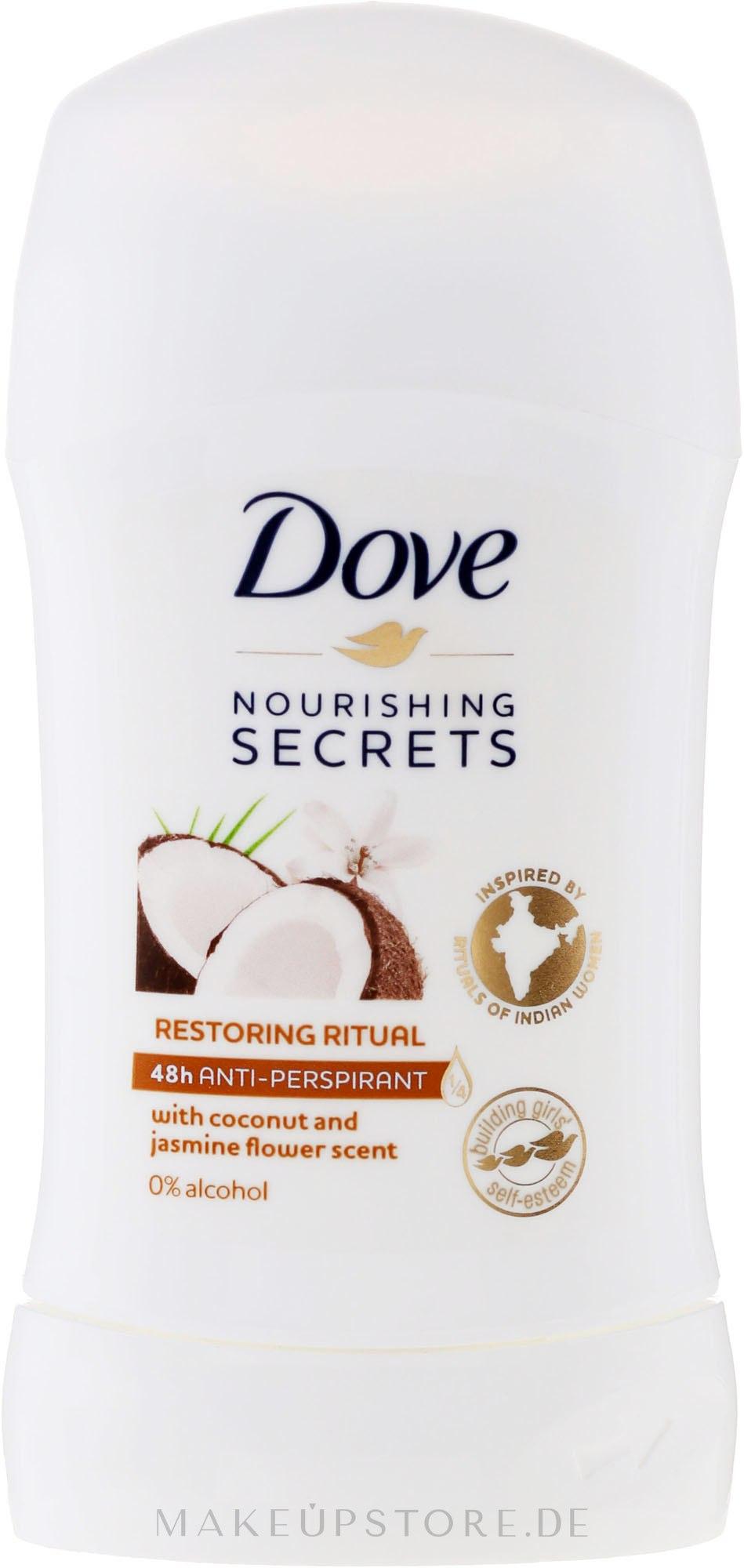 Deostick Antitranspirant - Dove Nourishing Secrets Restoring Ritual Deodorant — Bild 40 ml