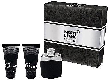 Montblanc Legend - Duftset (Eau de Toilette 100ml + After Shave Balsam 100ml + Duschgel 100ml) — Bild N1