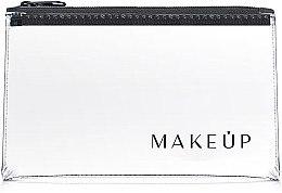 Düfte, Parfümerie und Kosmetik Kosmetiktasche Flat Glow tranasparent 21x12 cm - MakeUp