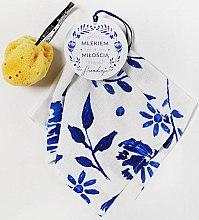 Düfte, Parfümerie und Kosmetik Gesichtspflegeset - LullaLove Yummy (Gesichtsschwamm + Musselin-Badetuch)