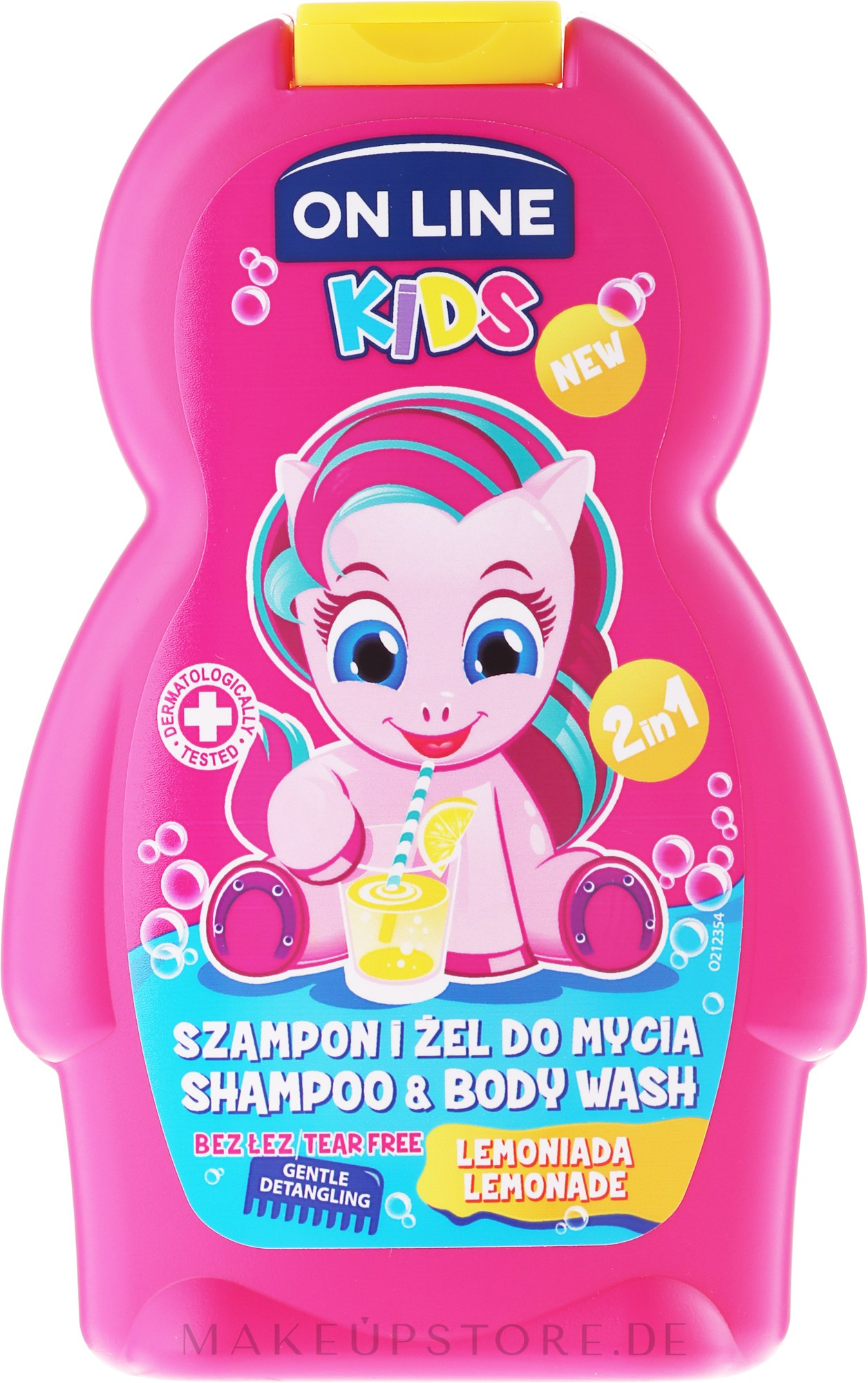 "Shampoo & Duschgel für Kinder ""Limonade"" - On Line Kids Lemonade Shampoo & Body Wash — Bild 250 ml"