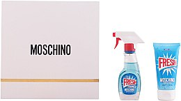 Düfte, Parfümerie und Kosmetik Moschino Fresh Couture - Set(edt/30ml + b/lot/50ml)