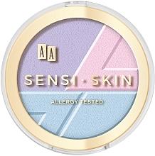 Düfte, Parfümerie und Kosmetik 3in1 Konturpalette mit holographischem Effekt - Sensi Skin 3In1 Holographic Set