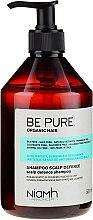 Düfte, Parfümerie und Kosmetik Beruhigendes Shampoo mit Ingwer- und Traubenextrakt - Niamh Hairconcept Be Pure Scalp Defence Shampoo