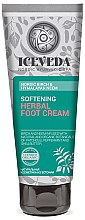 Düfte, Parfümerie und Kosmetik Fußcreme - Natura Siberica Iceveda Nordic Birch&Hymalayan Neem Softening Herbal Foot Cream