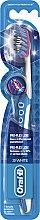 Zahnbürste mittel 3D White Pro-Flex Luxe blau-weiß - Oral-B Proflex 3D White Luxe 38 Medium — Bild N1