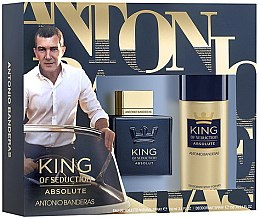 Düfte, Parfümerie und Kosmetik Antonio Banderas King of Seduction Absolute - Set(edt/100ml + sh/gel/150ml)
