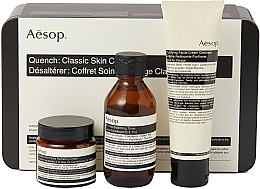 Düfte, Parfümerie und Kosmetik Gesichtspflegeset - Aesop Quench Classic Skin Care Kit (Gesichtstonikum 100ml + Feuchtigkeitscreme 100ml + Reinigungscreme 60ml)