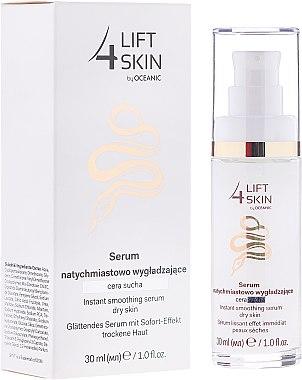Glättendes Gesichtsserum mit Sofort-Effekt für trockene Haut - Lift 4 Skin Instant Smoothing Serum Dry Skin — Bild N1