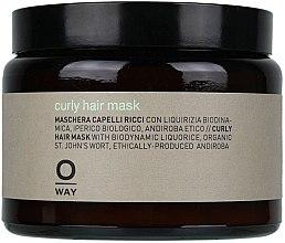 Düfte, Parfümerie und Kosmetik Pflegende und feuchtigkeitsspendende Maske für lockiges Haar - Rolland Oway BeCurly Mask (Glas)