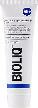 Pflegende Nachtcreme mit Lifting-Effekt - Bioliq 55+ Lifting And Nourishing Night Cream — Bild N2