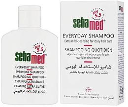 Düfte, Parfümerie und Kosmetik Extra sanftes Shampoo für den täglichen Gebrauch - Sebamed Everyday Shampoo (Mini)