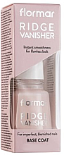 Düfte, Parfümerie und Kosmetik Glättender Nagelunterlack - Flormar Ridge Vanisher Base Coat