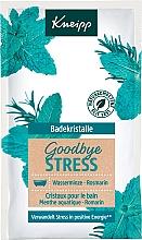 Düfte, Parfümerie und Kosmetik Badekristalle mit Wasserminze und Rosmarin - Kneipp GoodBye Stress Bath Crystals