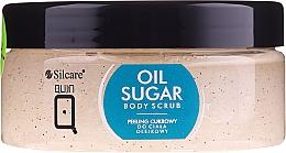 Düfte, Parfümerie und Kosmetik Natürliches Zuckerkörperpeeling mit Rizinus-, Pfirsich- und Avocadoöl - Silcare Quin Sugar Body Peel Oil