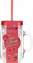 Düfte, Parfümerie und Kosmetik Badebomben im Glas Hibiskus & Acai-Beere - Bubble T Bath Fizzers In Reusable Jar Hibiscus & Acai Berry