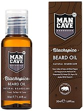 Düfte, Parfümerie und Kosmetik Bartöl - Man Cave Blackspice Beard Oil