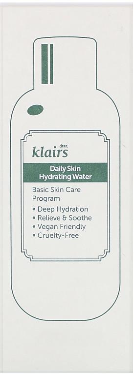 Feuchtigkeitsspendendes Gesichtswasser mit grünem Tee Extrakt - Klairs Daily Skin Hydrating Water — Bild N2