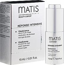 Düfte, Parfümerie und Kosmetik Anti-Aging Öl-Serum für das Gesicht - Matis Reponse Intensive OleaScience