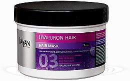 Düfte, Parfümerie und Kosmetik Volumen-Haarmaske mit Hyalronsäure - Kayan Professional Hyaluron Hair Mask