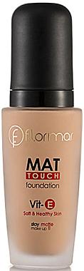 Mattierende Foundation - Flormar Mat Touch Foundation — Bild N1