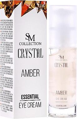 Essentielle Augenkonturcreme Bernstein - Hristina Cosmetics SM Crystal Amber Eye Cream — Bild N1
