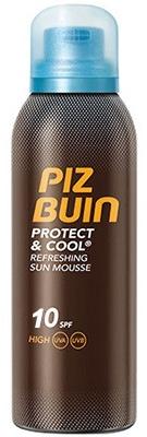 Erfrischende Körpermousse mit Sonnenschutz SPF 10 - Piz Buin Protect & Cool Refreshing Sun Mousse SPF10 — Bild N1