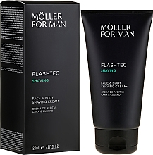 Düfte, Parfümerie und Kosmetik Rasiercreme - Anne Moller Man Flashtec Shaving Face And Body Shaving Cream