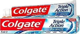 Düfte, Parfümerie und Kosmetik Aufhellende Zahnpasta - Colgate Triple Action Xtra White