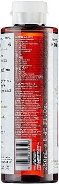 Shampoo für stumpfes und sprödes Haar - Korres Rice Proteins And Linden Shampoo For Thin And Fine Hair — Bild N3