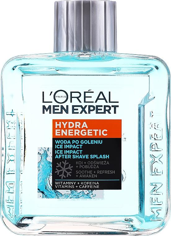 Feuchtigkeitsspendende, beruhigende und energetisierende After Shave Lotion mit Vitaminen und Koffein - L'Oreal Paris Men Expert — Bild N1