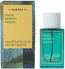 Düfte, Parfümerie und Kosmetik Korres Water Bamboo Freesia - Eau de Toilette