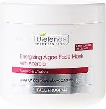 Düfte, Parfümerie und Kosmetik Energetisierende Algenmaske für das Gesicht mit Acerola - Bielenda Professional Peel Off Gel Mask