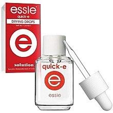 Düfte, Parfümerie und Kosmetik Nagellack-Schnelltrocknungstropfen - Essie Quick-E Dryng Drops
