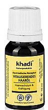 Düfte, Parfümerie und Kosmetik Vitalisierendes Haaröl für Haarwachstum und Kräftigung - Khadi Hair Oil (Mini)