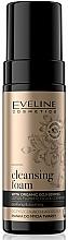 Düfte, Parfümerie und Kosmetik Beruhigender Gesichtsreinigungsschaum - Eveline Organic Gold Cleansing Foam