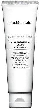 Gesichtsreinigungsgel mit Meersalz, Pfefferminze und Ingwerextrakt - Bare Escentuals Bare Minerals Blemish Remedy Acne Treatment Gelee Cleanser — Bild N1