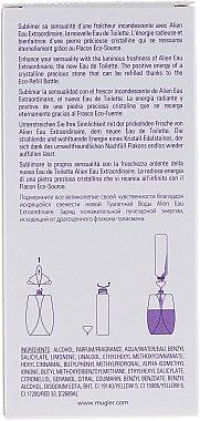 Mugler Alien Eau Extraordinaire Eco-Refill Bottle - Eau de Toilette (Eco-Refill Flasche) — Bild N2