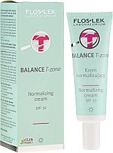 Düfte, Parfümerie und Kosmetik Normalisierende Tagescreme für die T-Zone - FlosLek Balance T-Zone Normalizing Day Cream SPF 10