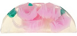"Düfte, Parfümerie und Kosmetik Glycerinseife ""Rose Fantasy"" rosa - Bulgarian Rose Glycerin Soap Rose Fantasy"