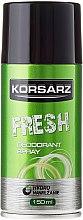 Düfte, Parfümerie und Kosmetik Deospray - Pharma CF Korsarz Fresh Deodorant